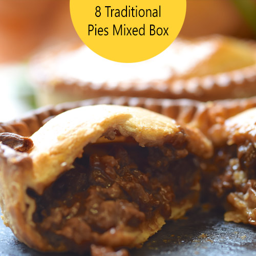 8 Mixed Traditional Pies